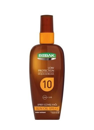 Bebak Bebak Sun Oil Spray SPF10 150ml Renksiz